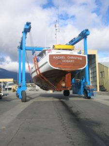 Rachel Christine at Cleanlift Marine