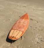 Wooden Fred Rubble Surfboard
