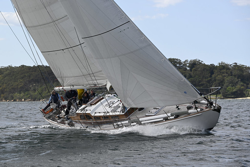 Nigel Stoke's yacht Fidelis - a regular competitor in the iconic race and a regular at the AWBF