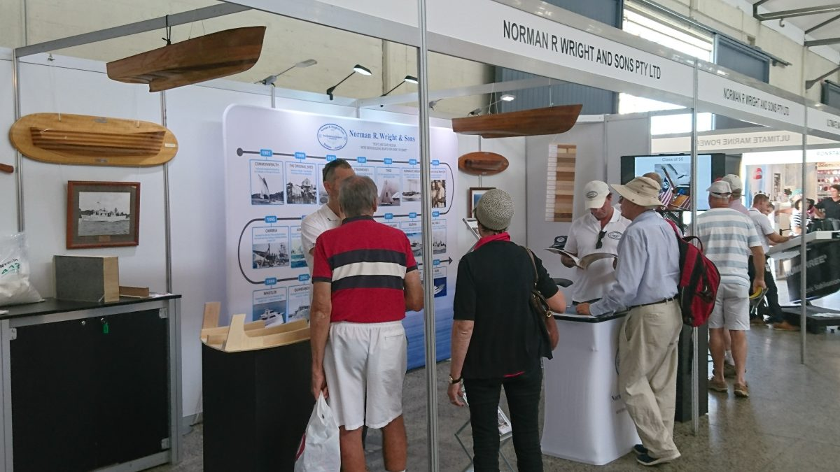 West System with Norman Wright & Sons at the AWBF Maritime Marketplace.